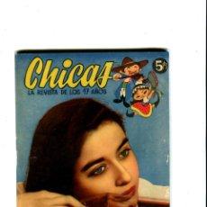 Coleccionismo de Revistas y Periódicos: CHICAS LA REVISTA DE LOS 17 AÑOS Nº 195 AÑO 1954. Lote 41926723