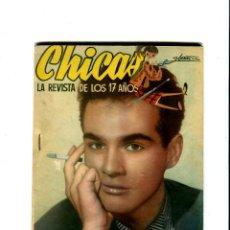 Coleccionismo de Revistas y Periódicos: CHICAS LA REVISTA DE LOS 17 AÑOS Nº 196 AÑO 1954. Lote 41926725