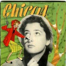 Coleccionismo de Revistas y Periódicos: CHICAS LA REVISTA DE LOS 17 AÑOS Nº 184 AÑO 1954. Lote 41932802