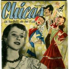 Coleccionismo de Revistas y Periódicos: CHICAS LA REVISTA DE LOS 17 AÑOS Nº 145 AÑO 1953. Lote 41967149