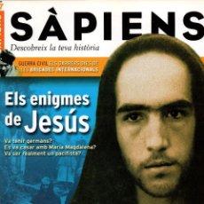 Coleccionismo de Revistas y Periódicos: REVISTA SÀPIENS, Nº27, GENER 2005. ELS ENIGMES DE JESÚS.. Lote 41990824