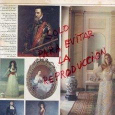 Coleccionismo de Revistas y Periódicos: DUQUESA DE ALBA LA CASA DE ALBA HOJA REVISTA. Lote 42088325