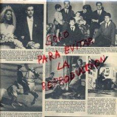 Coleccionismo de Revistas y Periódicos: DUQUESA DE ALBA LA CASA DE ALBA HOJA REVISTA 1978. Lote 42088600