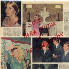 Coleccionismo de Revistas y Periódicos: DUQUESA DE ALBA LA CASA DE ALBA HOJA REVISTA 1978. Lote 42088619