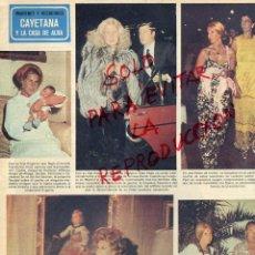 Coleccionismo de Revistas y Periódicos: DUQUESA DE ALBA LA CASA DE ALBA HOJA REVISTA 1978. Lote 42088670