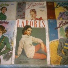 Coleccionismo de Revistas y Periódicos: REVISTA LABORES DE VOSOTRAS.LOTE DE.SEIS.NUMEROS.AÑO;1945/48.CONTIENE BUENA PUBLICIDAD . Lote 42116215