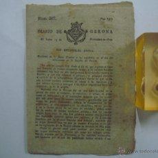 Coleccionismo de Revistas y Periódicos: LIBRERIA GHOTICA. DIARIO DE GERONA. 13 DE NOVIEMBRE DE 1809.GUERRA DE LA INDEPENDENCIA.EJ.ORIGINAL!. Lote 42186745