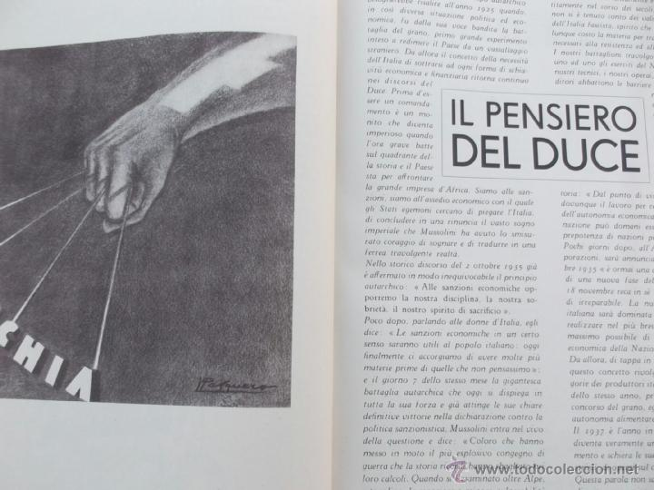 Coleccionismo de Revistas y Periódicos: FASCISMO: TORINO E LAUTARCHIA, Partito Nazionale Fascista, 1939, Cubierta Nico Edel Fotografias - Foto 6 - 42186881