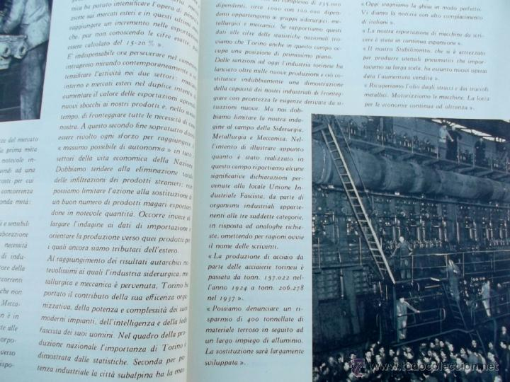 Coleccionismo de Revistas y Periódicos: FASCISMO: TORINO E LAUTARCHIA, Partito Nazionale Fascista, 1939, Cubierta Nico Edel Fotografias - Foto 7 - 42186881