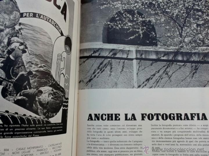 Coleccionismo de Revistas y Periódicos: FASCISMO: TORINO E LAUTARCHIA, Partito Nazionale Fascista, 1939, Cubierta Nico Edel Fotografias - Foto 9 - 42186881
