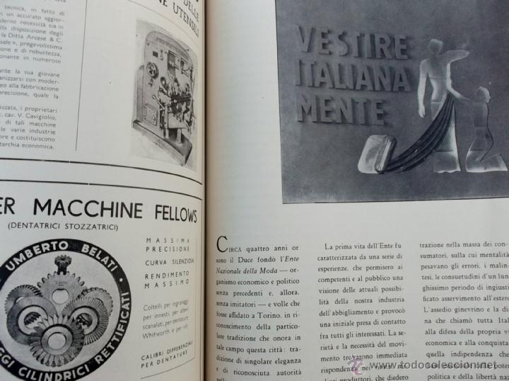 Coleccionismo de Revistas y Periódicos: FASCISMO: TORINO E LAUTARCHIA, Partito Nazionale Fascista, 1939, Cubierta Nico Edel Fotografias - Foto 11 - 42186881