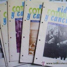 Coleccionismo de Revistas y Periódicos: LOTE 9 FASCICULOS ¨ VIDA COTIDIANA Y CANCIONES ¨.Nº 14 DEL VOLUMEN 1 Y 1,2,5,7, 9, 10, 11 Y 13 DEL 2. Lote 42228094