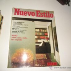 Coleccionismo de Revistas y Periódicos: REVISTA NUEVO ESTILO N 153. Lote 42249835