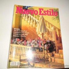 Coleccionismo de Revistas y Periódicos: REVISTA NUEVO ESTILO N 197. Lote 42250097