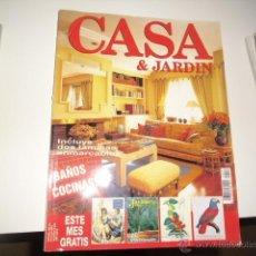 Coleccionismo de Revistas y Periódicos: REVISTA CASA & JARDIN BAÑOS COCINAS 251. Lote 42250664