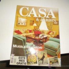 Coleccionismo de Revistas y Periódicos: REVISTA CASA & JARDIN MUEBLE DE JARDIN 242. Lote 42251452