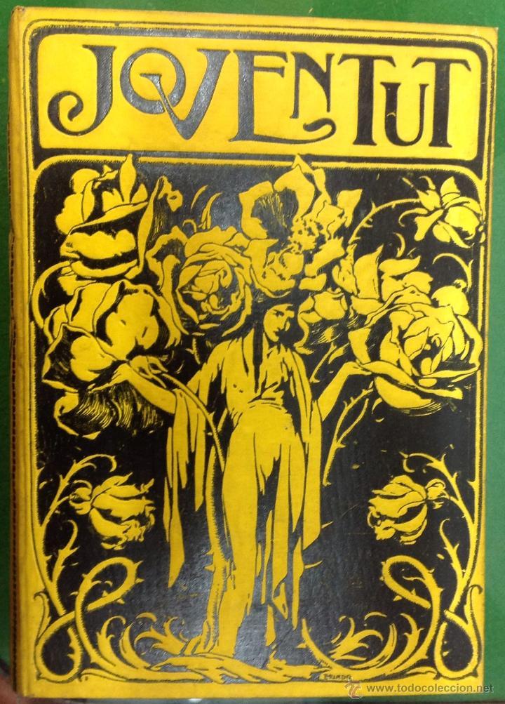 REVISTA JOVENTUT. PERIODICH CATALANISTA. ANY 1901. ART CIENCIA LITERATURA. TRIADÓ. (Coleccionismo - Revistas y Periódicos Antiguos (hasta 1.939))