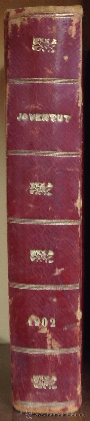 Coleccionismo de Revistas y Periódicos: REVISTA JOVENTUT. PERIODICH CATALANISTA. ANY 1902. ART CIENCIA LITERATURA. - Foto 4 - 42276861