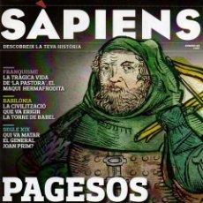 Coleccionismo de Revistas y Periódicos: REVISTA SÀPIENS Nº103, MAIG 2011. PAGESOS EN PEU DE GUERRA.. Lote 42299523