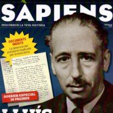 Coleccionismo de Revistas y Periódicos: REVISTA SÀPIENS Nº 96, OCTUBRE 2010. LLUÍS COMPANYS.. Lote 42300605