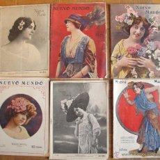 Coleccionismo de Revistas y Periódicos: REVISTA NUEVO MUNDO. Lote 42318046