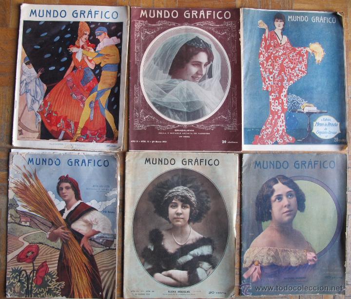 REVISTA MUNDO GRÁFICO (Coleccionismo - Revistas y Periódicos Antiguos (hasta 1.939))