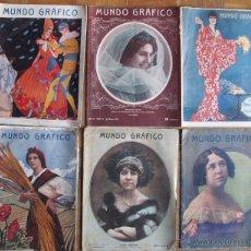 Coleccionismo de Revistas y Periódicos: REVISTA MUNDO GRÁFICO. Lote 42318081