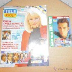 Coleccionismo de Revistas y Periódicos: REVISTA TELE INDISCRETA COMPLETA Nº 400 AÑO 1992. Lote 46283014