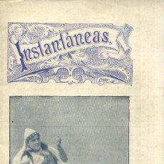 Coleccionismo de Revistas y Periódicos: INSTANTÁNEAS - Nº 40, SÁBADO 8 JULIO 1899 - REVISTA SEMANAL DE ARTES Y LETRAS . Lote 42332009