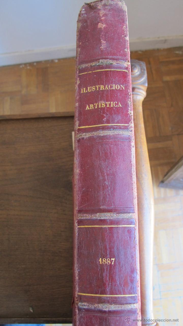 Coleccionismo de Revistas y Periódicos: Revista Ilustración Artística 1887 - Foto 2 - 42367669