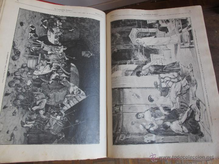 Coleccionismo de Revistas y Periódicos: Revista Ilustración Artística 1887 - Foto 6 - 42367669