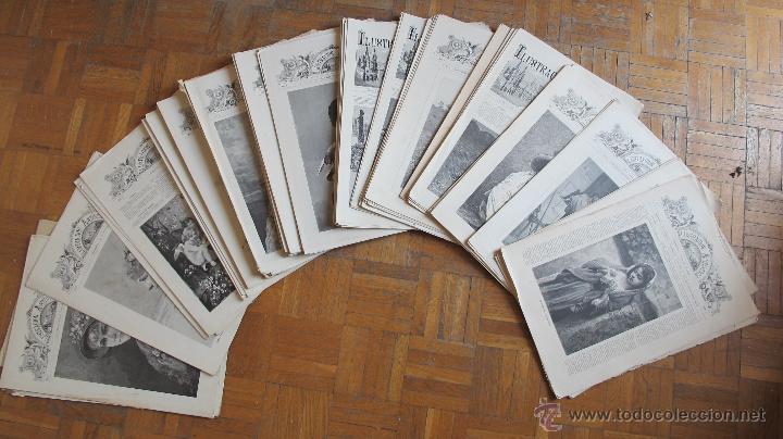 REVISTA ILUSTRACIÓN ARTÍSTICA (Coleccionismo - Revistas y Periódicos Antiguos (hasta 1.939))