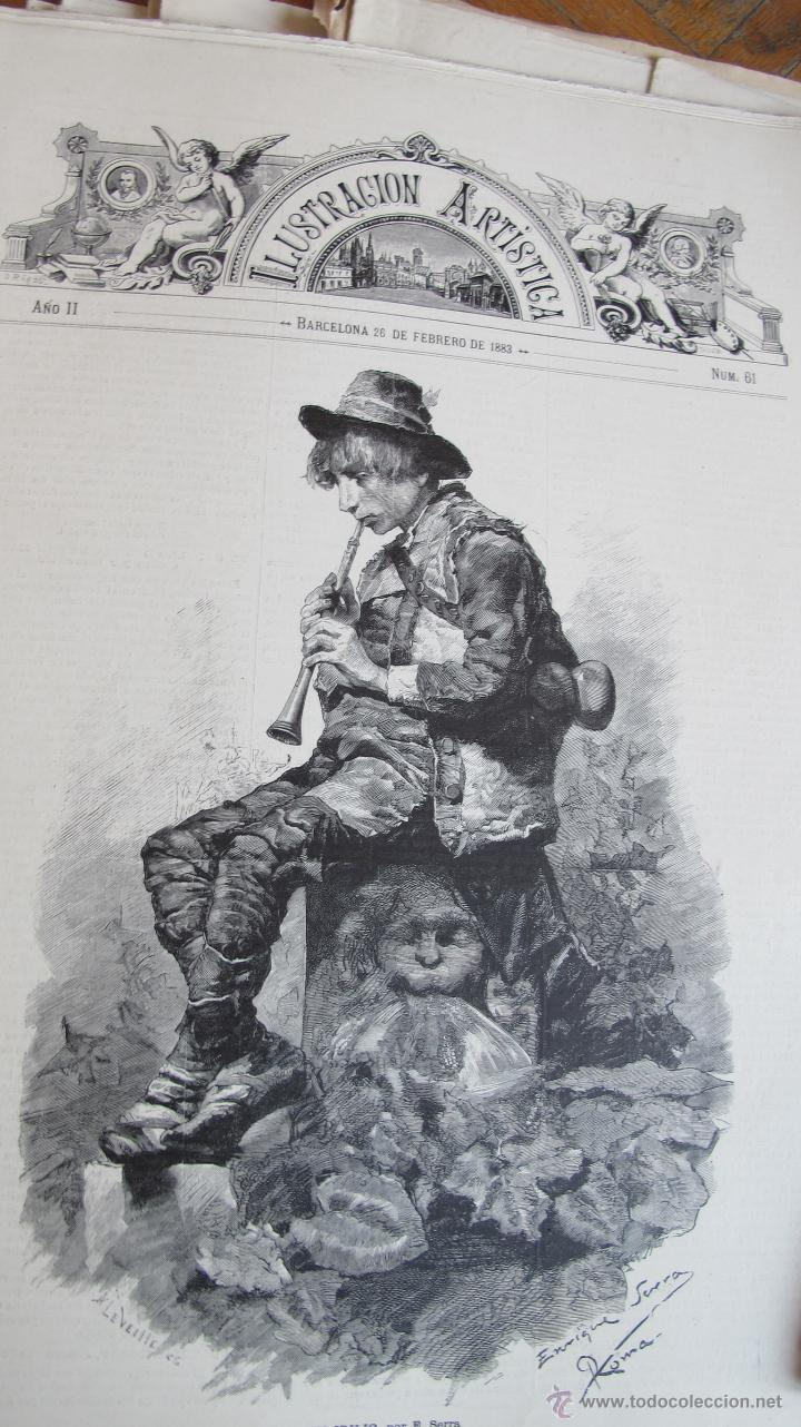 Coleccionismo de Revistas y Periódicos: Revista Ilustración Artística - Foto 4 - 42367877