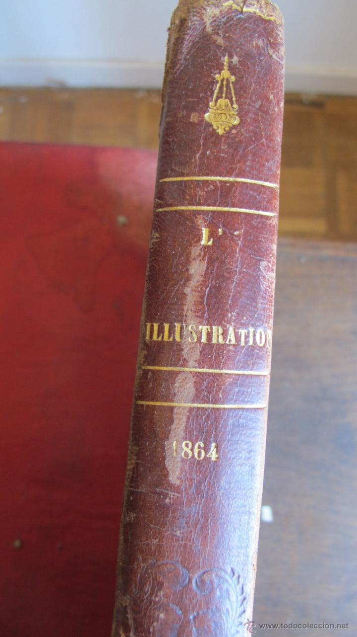 Coleccionismo de Revistas y Periódicos: Revista L'Illustration 1864. PARÍS - Foto 2 - 42368009