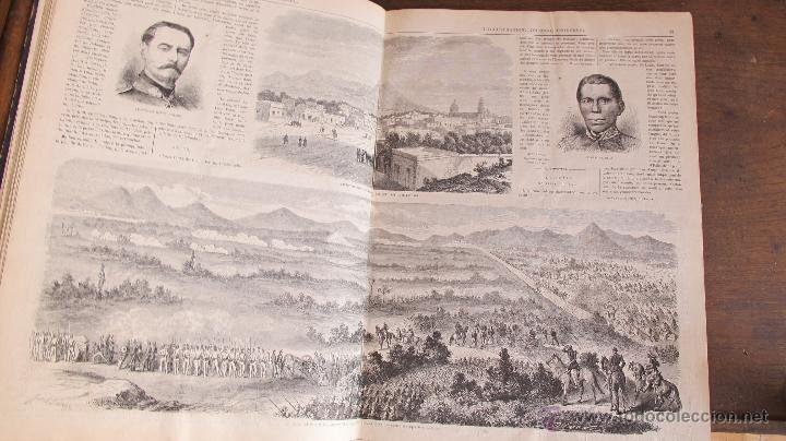 Coleccionismo de Revistas y Periódicos: Revista L'Illustration 1864. PARÍS - Foto 6 - 42368009