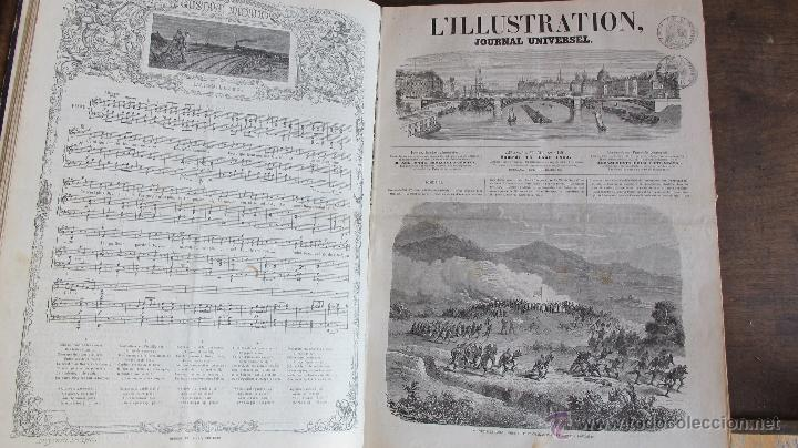 Coleccionismo de Revistas y Periódicos: Revista L'Illustration 1864. PARÍS - Foto 7 - 42368009