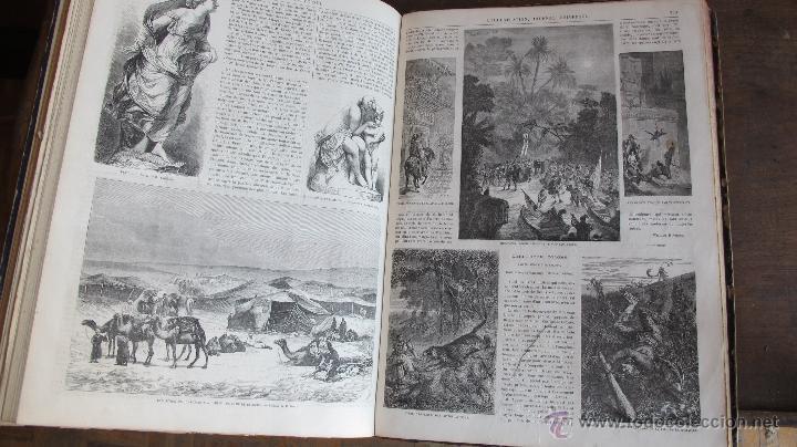 Coleccionismo de Revistas y Periódicos: Revista L'Illustration 1864. PARÍS - Foto 8 - 42368009