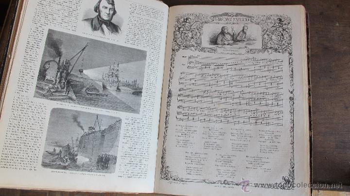 Coleccionismo de Revistas y Periódicos: Revista L'Illustration 1864. PARÍS - Foto 9 - 42368009