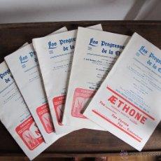 Coleccionismo de Revistas y Periódicos: REVISTA LOS PROGRESOS DE LA CLINICA. Lote 42383789