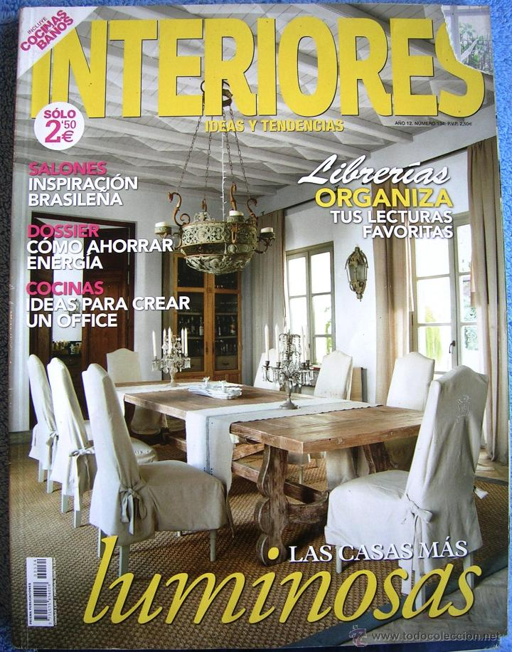 Revista interiores ideas y tendencias n 134 l comprar Revista interiores ideas y tendencias
