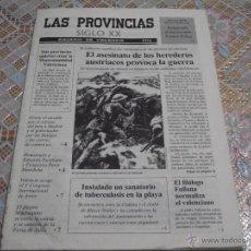 Coleccionismo de Revistas y Periódicos: LAS PROVINCIAS SIGLO XX • ANUARIO DE VALENCIA 1914. Lote 42455608