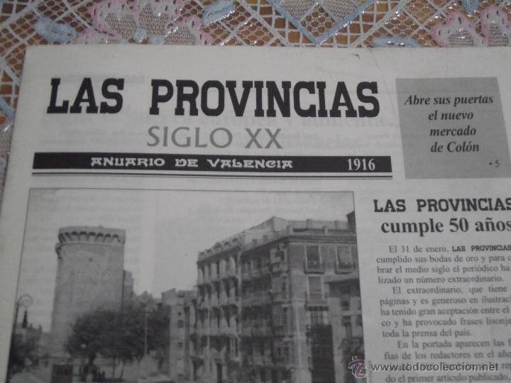 Coleccionismo de Revistas y Periódicos: LAS PROVINCIAS SIGLO XX • ANUARIO DE VALENCIA 1916 - Foto 2 - 42455627