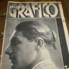 Coleccionismo de Revistas y Periódicos: REVISTA MUNDO GRÁFICO 3 JUNIO 1931. Lote 42461624