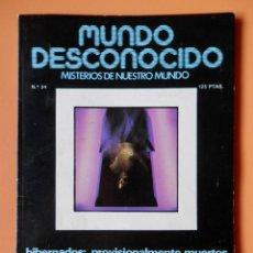 Coleccionismo de Revistas y Periódicos: MUNDO DESCONOCIDO. MISTERIOS DE NUESTRO MUNDO. Nº 34 - DTOR: ANDREAS FABER-KAISER. Lote 42491973