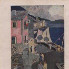 Coleccionismo de Revistas y Periódicos: BIDASOA / ILUSTRACIÓN DE A. REQUEJO - 1926. Lote 42512593