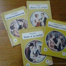 Coleccionismo de Revistas y Periódicos: ANTIGUAS NOVELAS DE BOLSILLO EDICIONES GARROFE BARCELONA. Lote 42599332