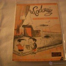 Coleccionismo de Revistas y Periódicos: LA CODORNIZ Nº 1382. Lote 42634964