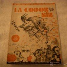 Coleccionismo de Revistas y Periódicos: LA CODORNIZ Nº 1454. Lote 42635266