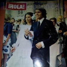 Coleccionismo de Revistas y Periódicos: REVISTA SEMANA NUMERO 1456. 22 JULIO 1972.BODA RAPHAEL Y NATALIA. Lote 42688132