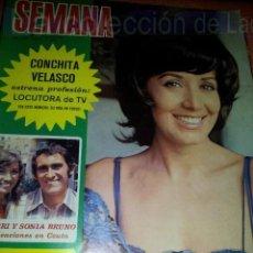 Coleccionismo de Revistas y Periódicos: REVISTA SEMANA NUMERO 1685. 3 JUNIO 1972.. Lote 42688140